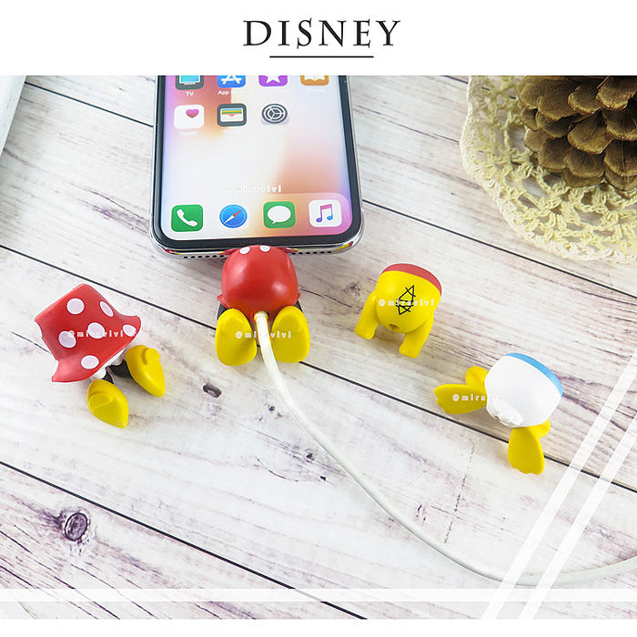 Disney迪士尼立體線材保護套_屁屁系列