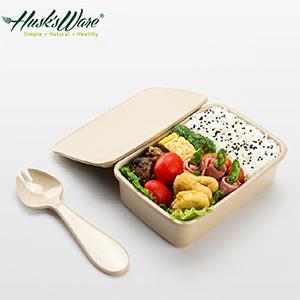 【Husk's ware】美國Husk's ware稻殼天然無毒環保便當盒-小-居家日用.傢俱寢具-myfone購物