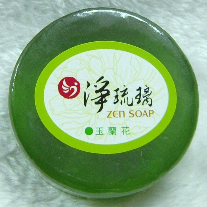 淨琉璃矽片美容皂100g玉蘭花
