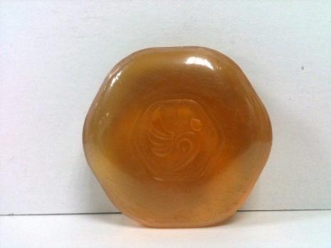 淨琉璃抗菌金棕皂100g