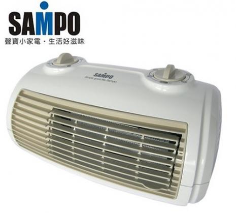 'SAMPO 聲寶'陶瓷定時電暖器 HX-FG12P/HXFG12P-家電.影音-myfone購物