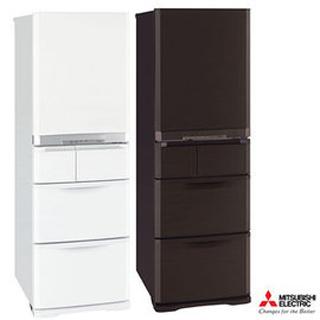 『MITSUBISHI』☆ 三菱 420L日製五門變頻電冰箱 MR-B42T *含免費基本安裝+舊機回收*都會棕