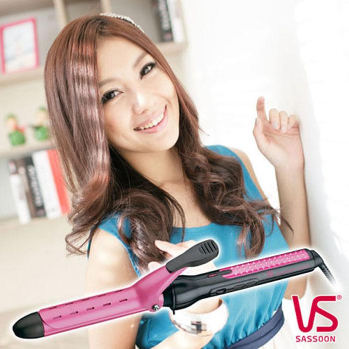 'SASSOON'☆沙宣 25毫米高效透氣溫控捲髮夾 VSCD120PIW
