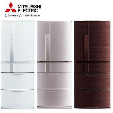'MITSUBISHI'☆三菱 635公升變頻六門電冰箱 MR-JX64W **免運費+基本安裝+舊機回收**
