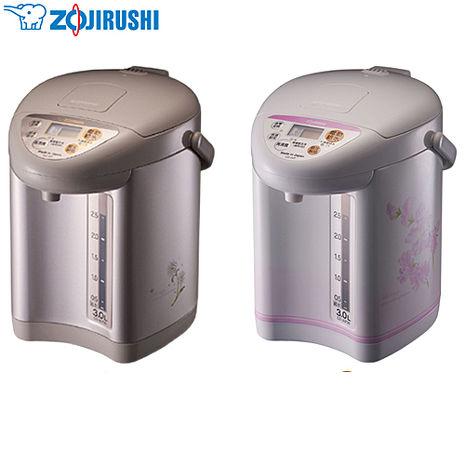 ├ ZOJIRUSHI ┤ 象印 3L 微電腦熱水瓶 棕色  CD-JUF30-CT