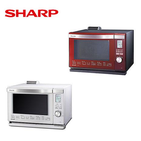 │SHARP│夏普 26L HEALSIO水波爐 AX-MX3T番茄紅-R