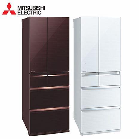 (領券再享折)MITSUBISHI 三菱 605L六門 變頻電冰箱 MR-WX61C 含基本安裝+舊機回收