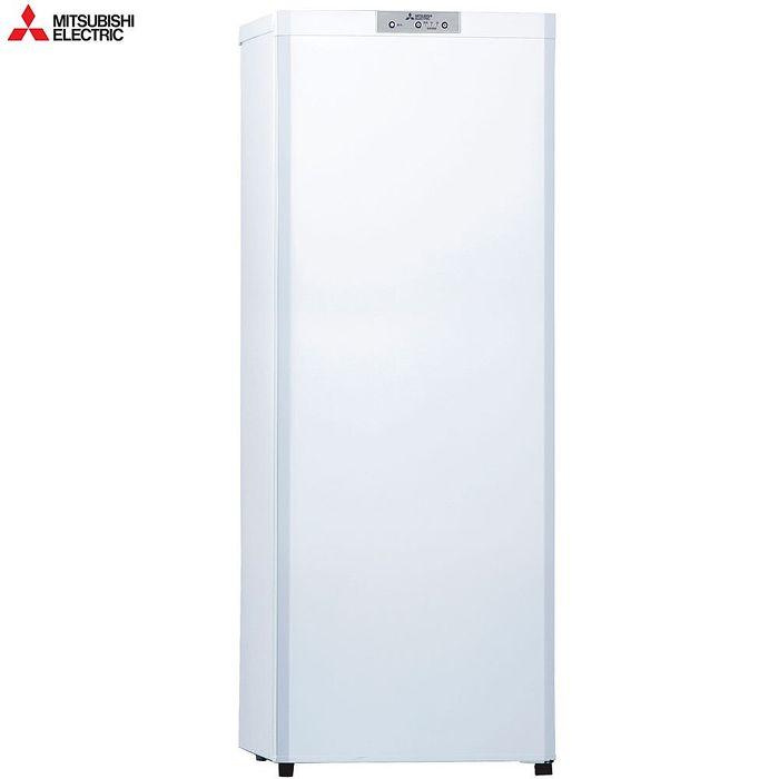 【預購】MITSUBISH 三菱 單門144L直立式冷凍櫃 MF-U14P-W