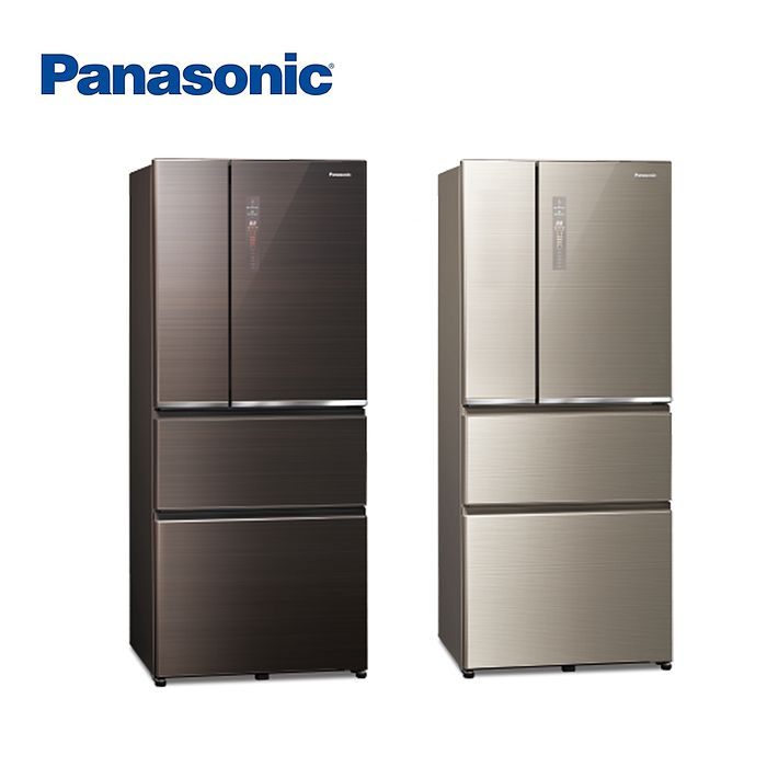 (領券再享折)Panasonic 國際牌 ECONAVI  610L四門一級能變頻電冰箱NR-D611XGS 含基本安裝(冰箱特賣)