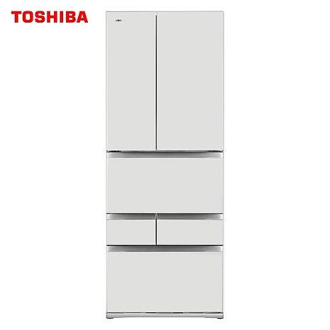 TOSHIBA 東芝 551L一級能六門變頻冰箱 GR-ZP550TFW-含基本安裝+舊機回收(冰箱特賣)(TOSHIBA特賣)