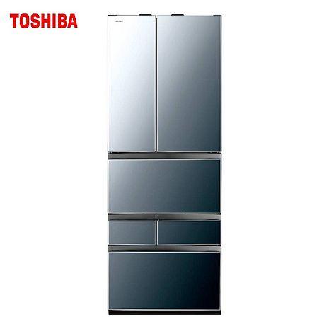 TOSHIBA 東芝 601L一級能變頻六門冰箱 GR-ZP600TFW-含基本安裝+舊機回收(冰箱特賣)(TOSHIBA特賣)