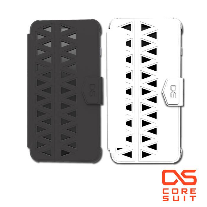 CORESUIT FOLD 幾何堆疊時尚配件+iPhone 6 Plus 5.5吋手機殼黑