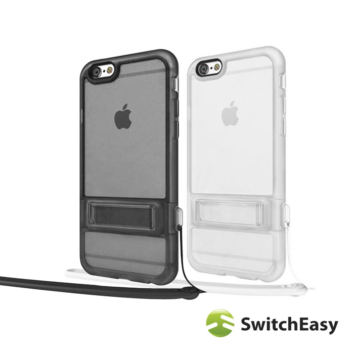 SwitchEasy Play iPhone6/6s Plus (5.5)兩用手機保護殼霧透黑