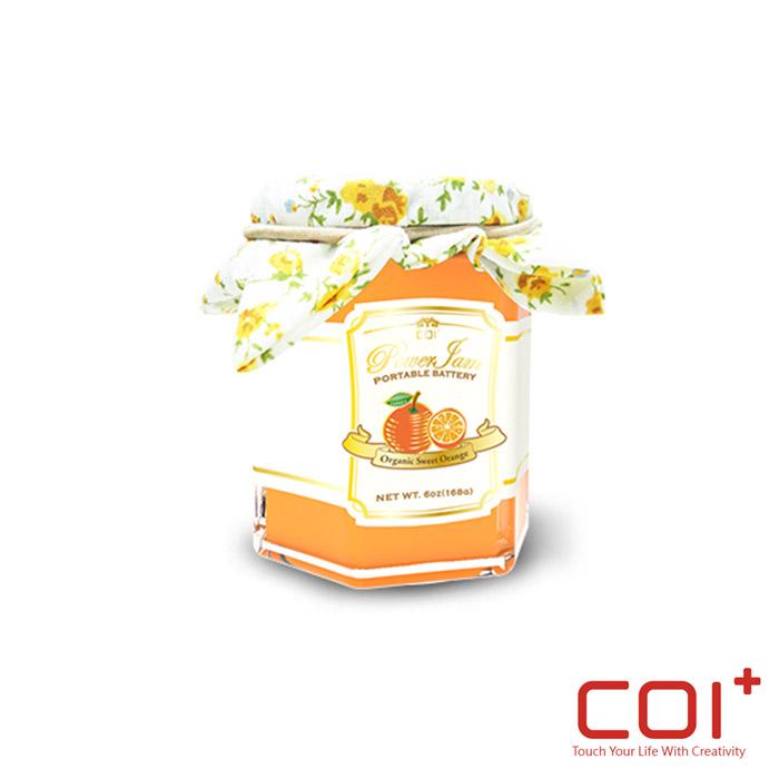 【COI+】PowerJam 6000mAh果醬罐行動電源 -甜橙