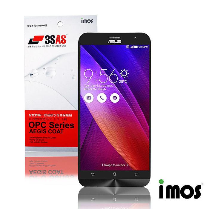 iMos 3SAS ASUS Zenfone2 5.5超疏水疏油效果保護貼