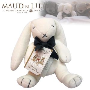 【曼德立歐Maud N Lil】有機棉安撫娃娃/柔軟小兔子