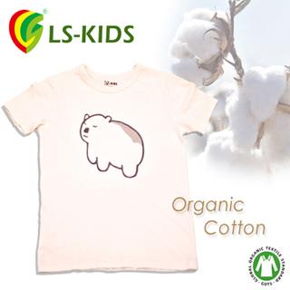 【LS-KIDS】有機棉童T–呆呆北極熊